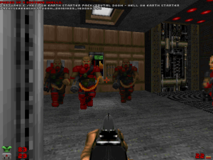 Yes, you don't always see too many of THESE in 'challenging' Doom II WADs.