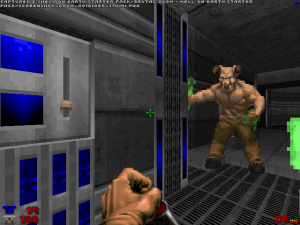 Don't ask me why, but I really love this blue version of the classic 'Doom' switch.
