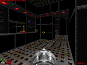 "Dammit! WHY didn't the old ""Doom"" games include rooms that look like THIS?"