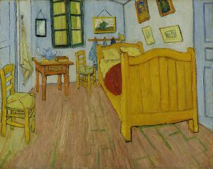 """Bedroom In Arles"" By Vincent Van Gogh (Via Wikipedia/Google Art Project)"