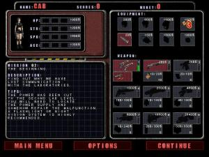 """Yes, like in """"Zombie Shooter"""", what you do on this screen can make the difference between success and failure."""