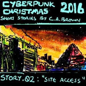 Yes, it's a series of daily festive cyberpunk stories :) Stay tuned for the next one tomorrow at 9:30pm GMT.