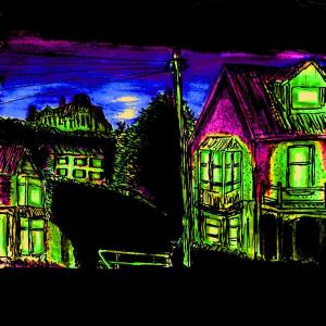 """""""Aberystwyth - Four Houses"""" By C. A. Brown"""
