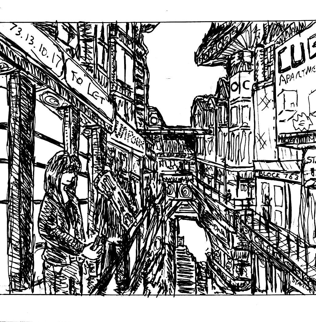 "Line Art Layer : ""aberystwyth series paintings « pekoeblaze the official"