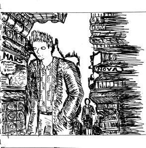 """Nova Street (Line Art)"" By C. A. Brown"