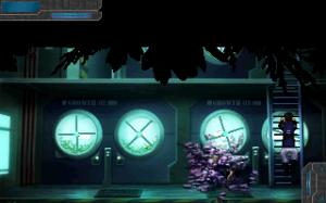 Yes, the puzzle a while before this part of the game seems to be slightly randomised. Still, it isn't that difficult to solve - since you just have to find a plant that matches a particular description.