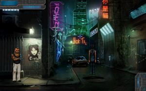"Yay! MORE games need to include ""Blade Runner""-like streets like THIS :)"