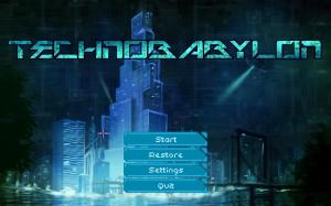 technobabylon-title-screen