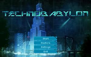 technobabylon-title-screen