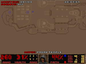 And, even cooler, he'll actually shout random gibberish during fights too. Crudox Cruo!!! Pallax!!!