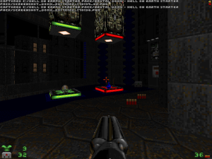 "It's also much less annoying than the ""one-third of a puzzle"" puzzles from a certain official Doom-engine game :)"