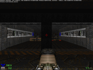 Or, option three, a plasma cannon found in an earlier level :)