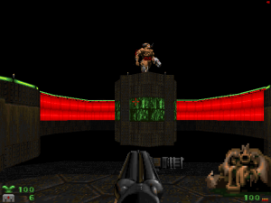 Yes, even the cyberdemon in level 14 can be easily dodged.