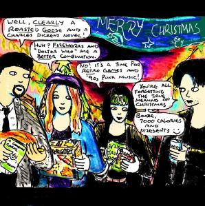 """[CLICK FOR LARGER IMAGE] """"Merry Christmas 2017"""" By C. A. Brown"""