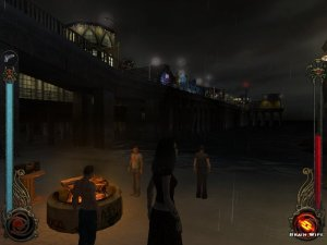 And this pier :) The music that plays in this part of the game is really cool too :)