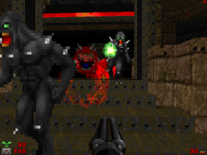 Yes, dark imps are nothing new. But, the green projectiles are really neat though.