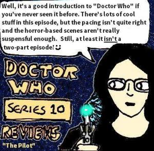 """Review: """"Doctor Who – The Pilot"""" (TV Show Episode"""