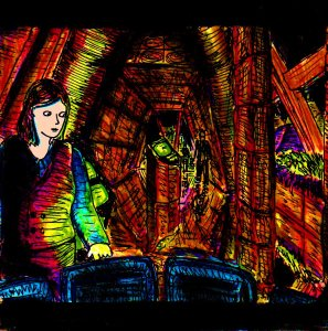 """Corridor Lobby"" By C. A. Brown"