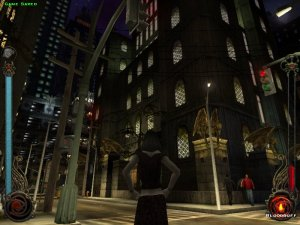 "The ""Downtown"" hub has a wonderfully 1990s-style ""film noir"" look to it :)"