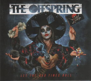The Offspring ''Let The Bad Times Roll' album cover (2021)