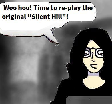 2021 Artwork Silent Hill (1999) game review sketch