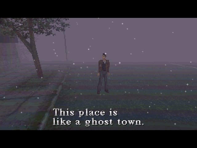 Silent Hill (1999) - Ghost town