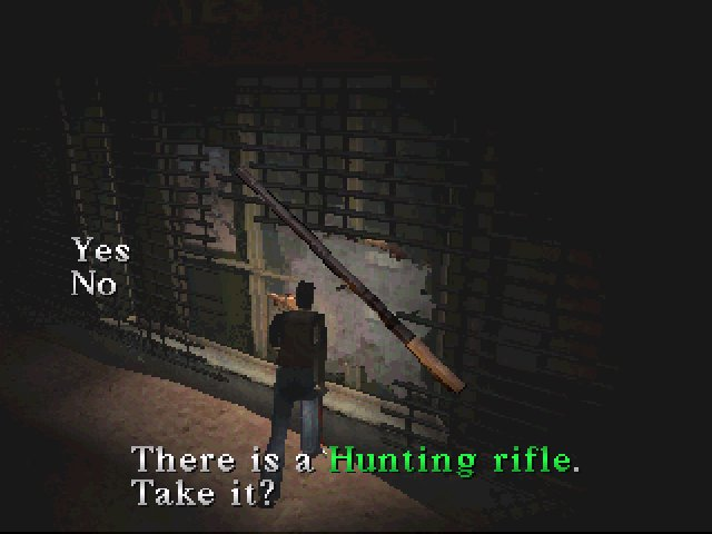 Silent Hill (1999) - Hunting rifle