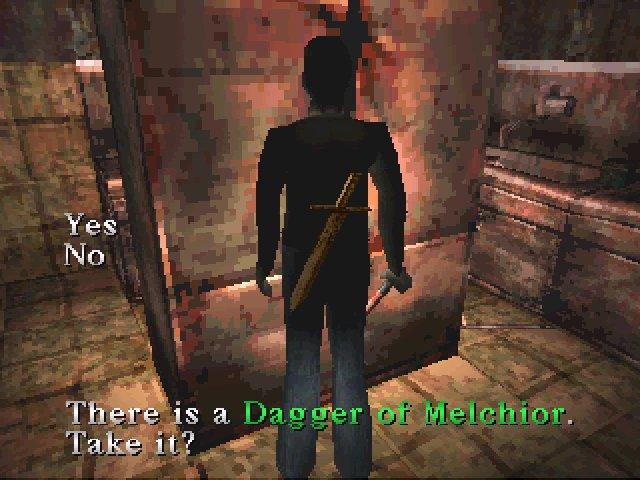 Silent Hill (1999) - The dagger of Melchior!