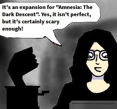 2021 Artwork Amnesia Justine (2011) game review sketch
