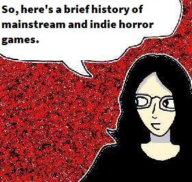 2021 Artwork Mainstream And Indie Horror Games article sketch