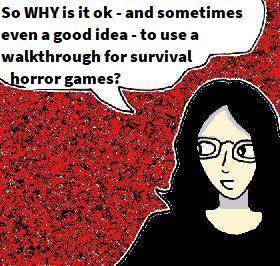 2021 Artwork Walkthroughs and survival horror games article sketch