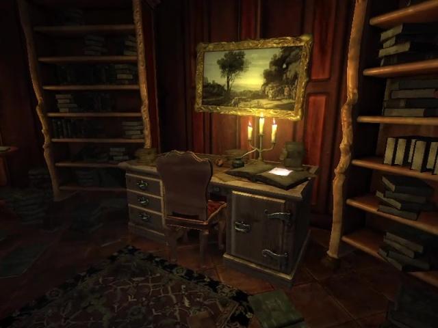 Amnesia Justine (2011) - Desk